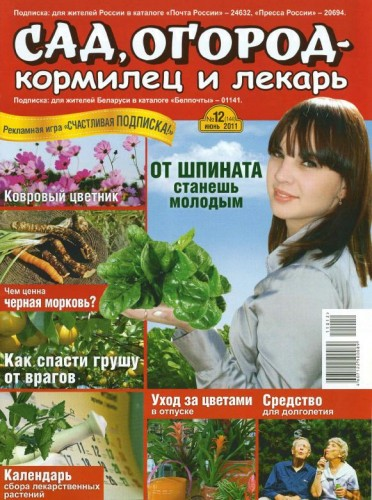 Сад журнал подписка