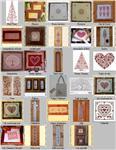 Оригинальные схемы вышивки крестиком (133 схемы) (2012) JPEG, PDF скачать.