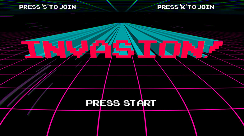 8bit Invasion (Steam Key / Region Free)