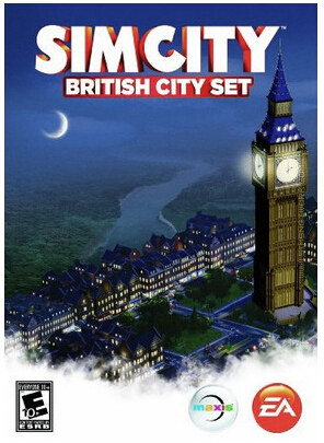 SimCity: English city set DLC / WorldWide PHOTO Multili