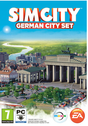 SimCity: The German city set DLC / WolrdWide Photo Mult