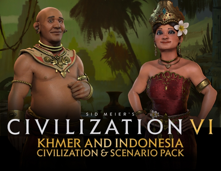 Civilization VI Khmer & Indonesia Scenario Steam -- RU