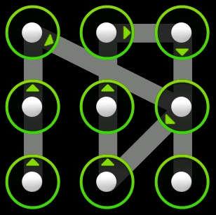 Как разблокировать графический ключ на Android
