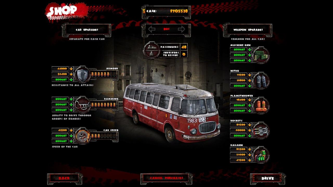 Zombie Driver HD + DLC + OST (Steam Key / Region Free)