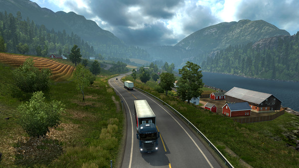 Euro Truck Simulator 2 Scandinavia - STEAM - RU+CIS+UA