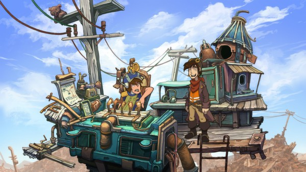Deponia The Complete Journey - STEAM key / GLOBAL