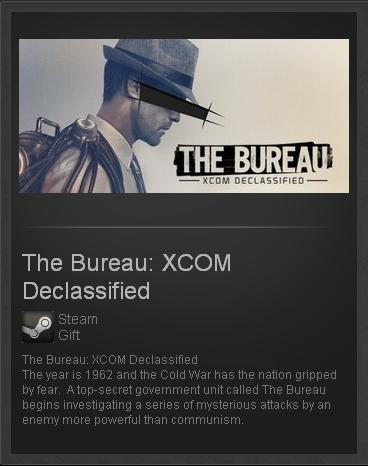 The Bureau XCOM Declassified - STEAM Gift - ROW / free