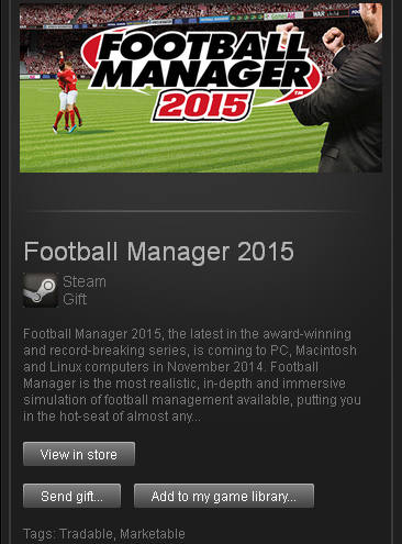 Football Manager 2015 - STEAM Gift - (RU+CIS+UA**)