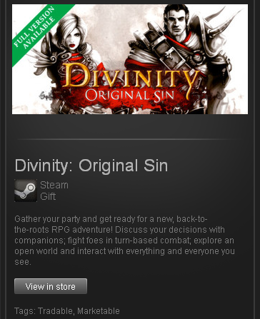 Divinity Original Sin Enhanced Edition STEAM RU+CIS+UA