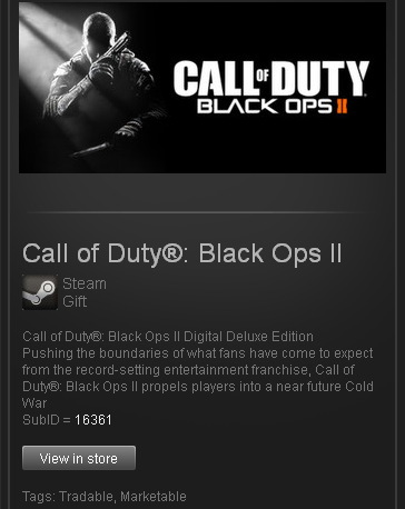 Call of Duty Black Ops II Digital Deluxe STEAM Gift ROW