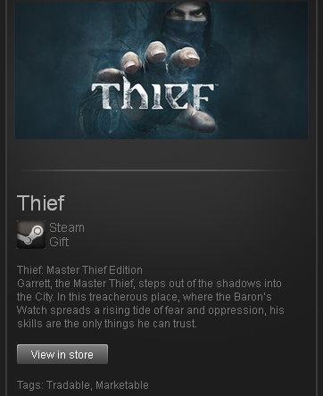 Thief: Master Edition (ROW) - STEAM Gift - Region Free