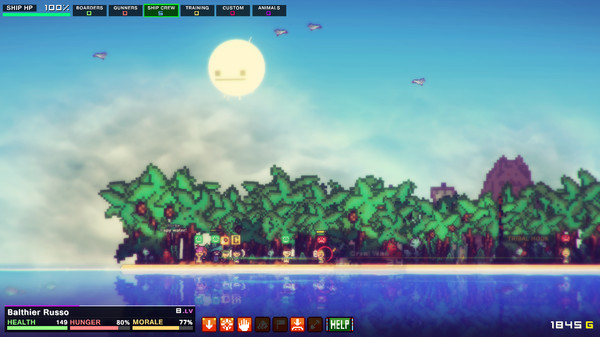 Pixel Piracy (ROW) - STEAM Key - Region Free