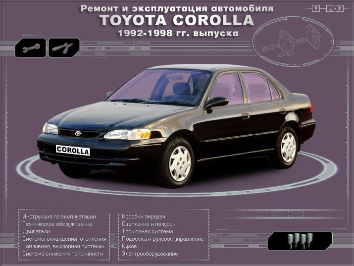Toyota_Corolla 92-98 (мультимедиа)