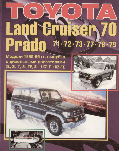 Toyota_Land Cruiser 70 Prado 85-96г