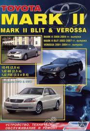 Toyota_Mark II Blit Verossa    00-07г