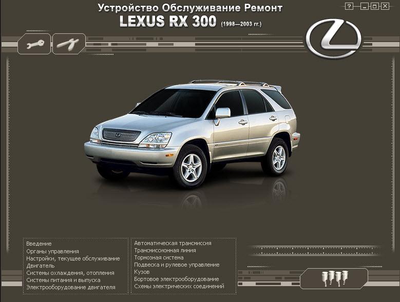 Toyota_Lexus RX300-330    98-03г  (мультимедиа)