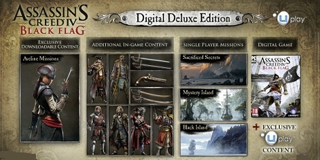 Купить Assassin's creed 4 black flag. Deluxe Edition - Gift