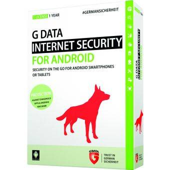 G DATA INTERNET SECURITY FOR ANDROID 1 DEVICE 1 YEAR