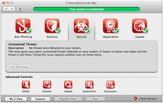 G DATA ANTIVIRUS FOR MAC 1PC 1 YEAR + Gift
