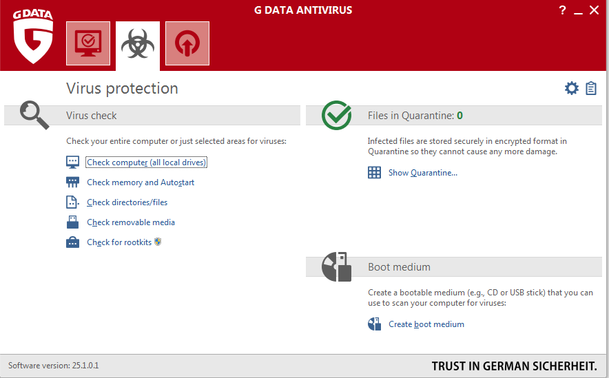 G DATA ANTIVIRUS 3PC 2 YEARS + Gift