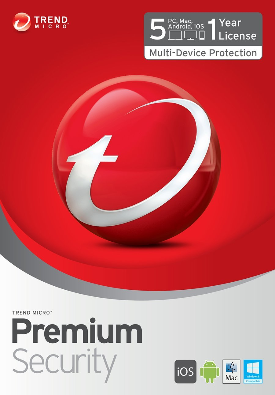 Trend Micro Premium Security 10 2 Year / 5 PC + Gift