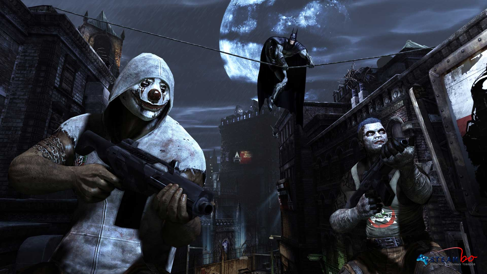 Batman Arkham City GOTY Region Free (Steam Gift/Key)