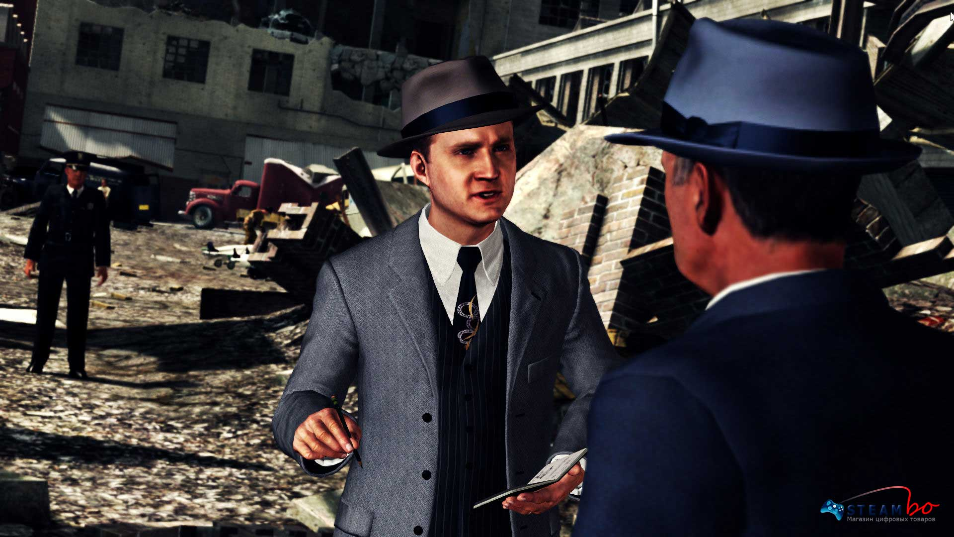 L.A. Noire Complete Edition Region Free (Steam Gift)