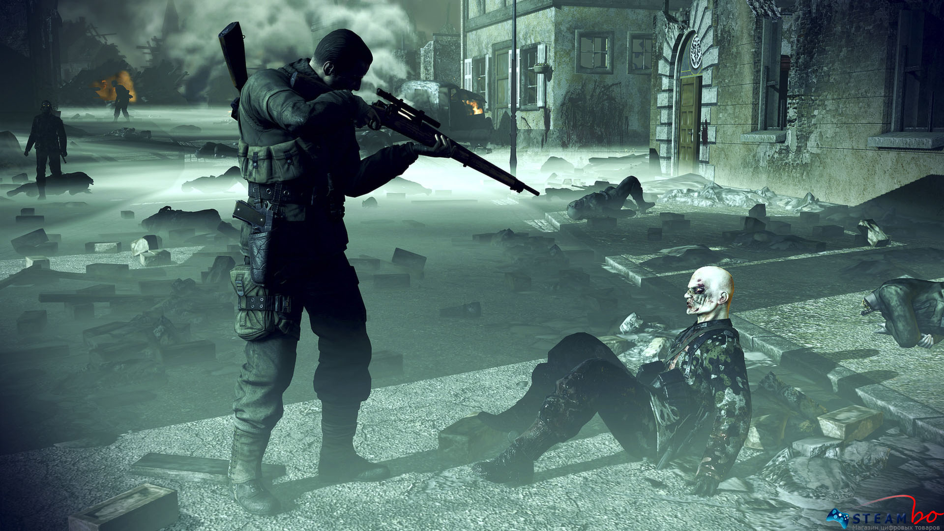 Sniper Elite: Nazi Zombie Army ROW (Steam Gift/Key)