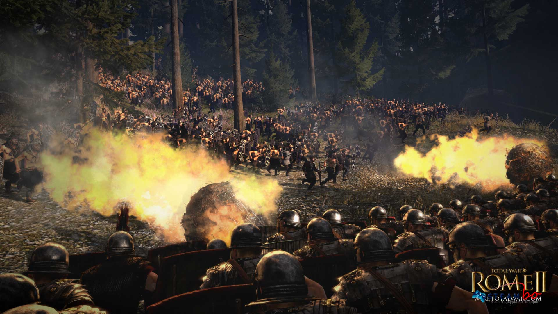 Total War: Rome II Emperor Region Free (Steam Gift/Key)