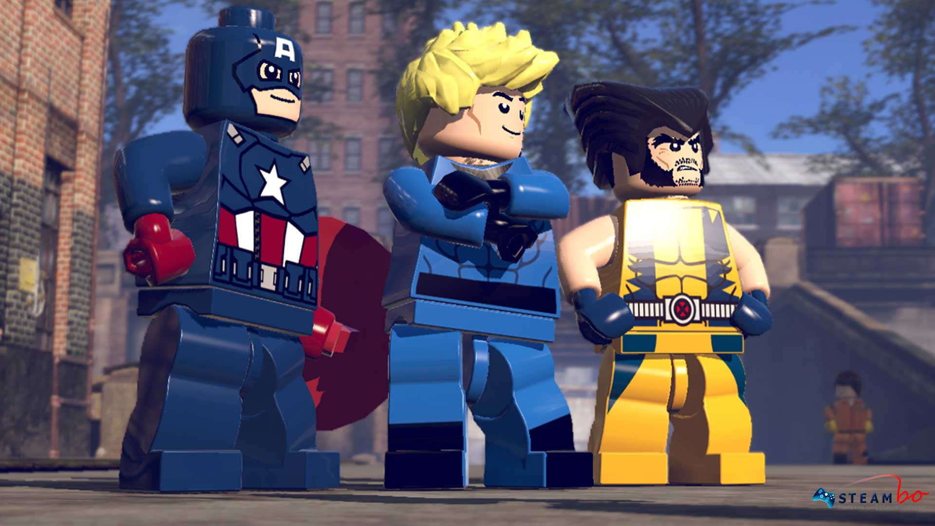 LEGO Marvel Super Heroes DLC Asgard Pack Steam Gift ROW