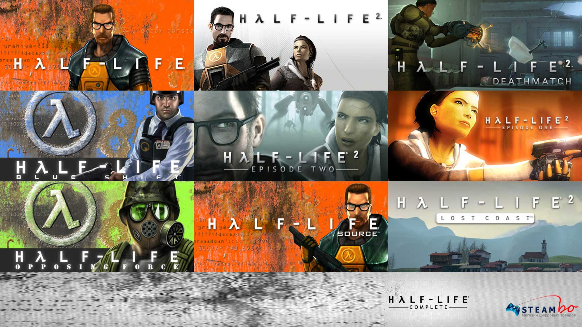 Half-Life Complete RU/CIS (Steam Gift/Key)