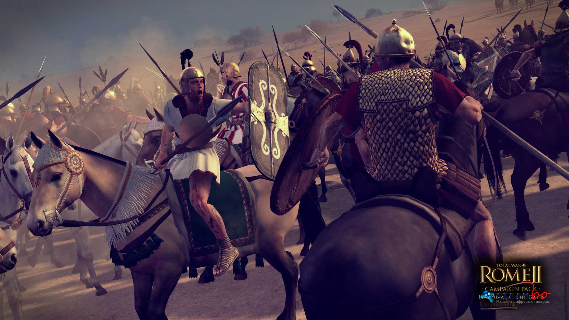 Total War ROME II Hannibal at the Gates ROW Steam Gift