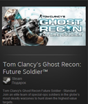Ghost Recon Future Soldier - Standard (Steam Reg. Free)