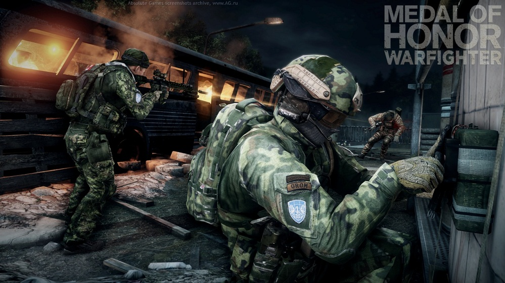 Medal of Honor Warfighter LE + BF4 Beta, Scan