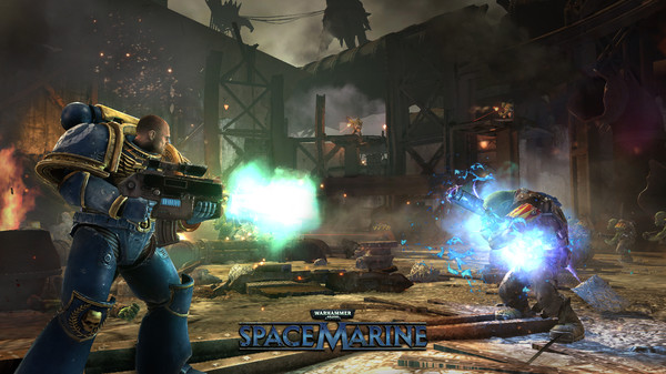Warhammer 40,000: Space Marine (Steam ключ/Region Free)