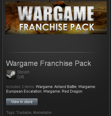 Wargame Franchise Pack Steam Gift/ Region Free