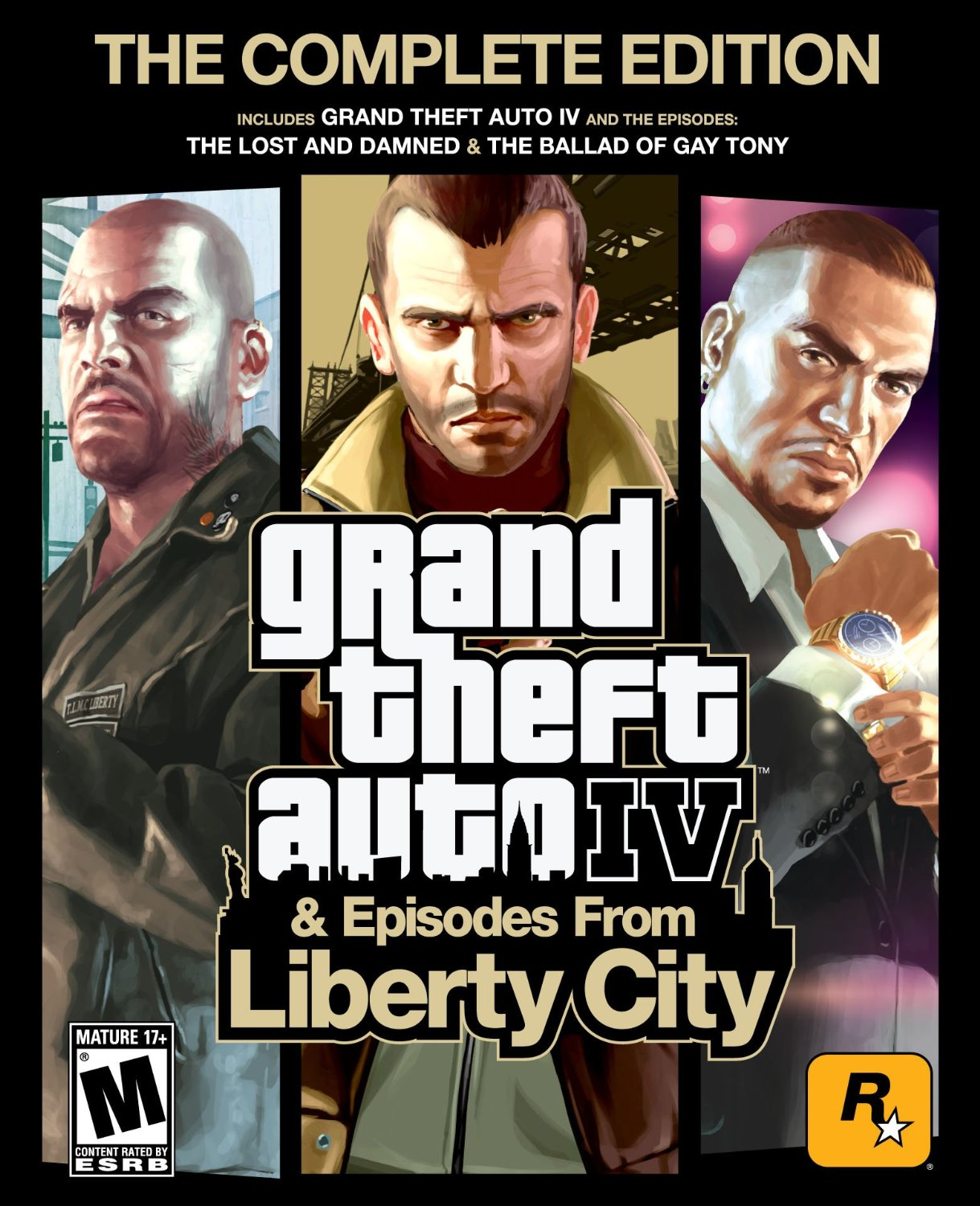 GRAND THEFT AUTO 4 IV :COMPLETE (STEAM/REGION FREE)