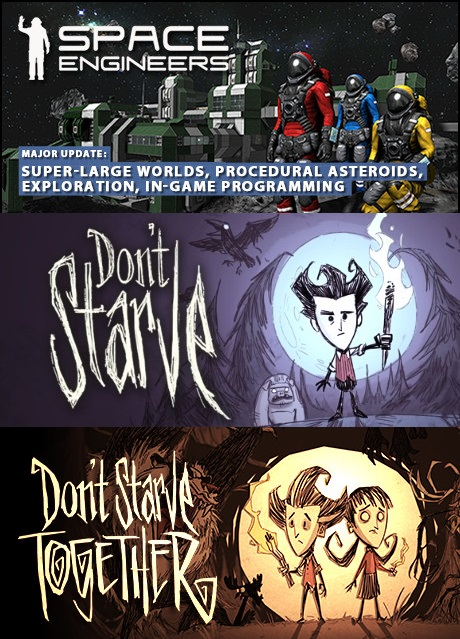 Space Engineers + Dont Starve Bundle (Steam account)