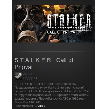 STALKER Call of Pripyat (Steam Gift / Region Free)