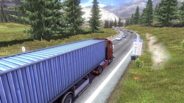 Euro Truck Simulator 2 (Steam Gift ROW - Region Free)
