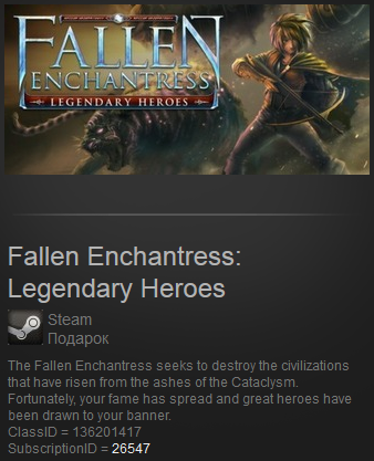 Fallen Enchantress: Legendary Heroes (Steam Gift / ROW)