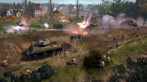 Company of Heroes 2 The Western Front Armies D ROW Gift