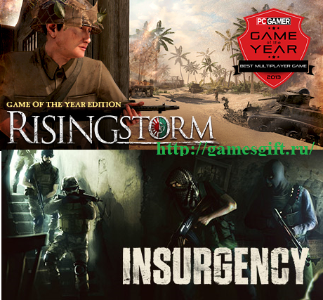 Rising Storm GOTY+Insurgency(NEW Steam account+mail)