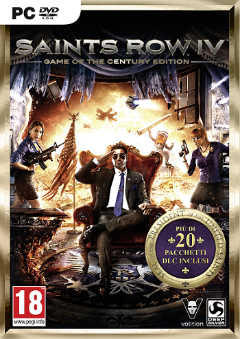 Saints Row IV: Game of the Century Edition RU/CIS gift