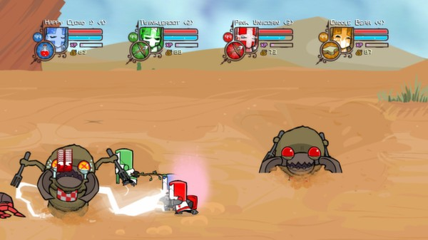 Castle Crashers ROW (Steam Gift - Region Free)