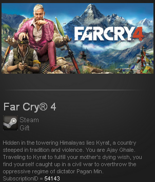 Far Cry® 4 Steam Gift - Region Free (ROW)