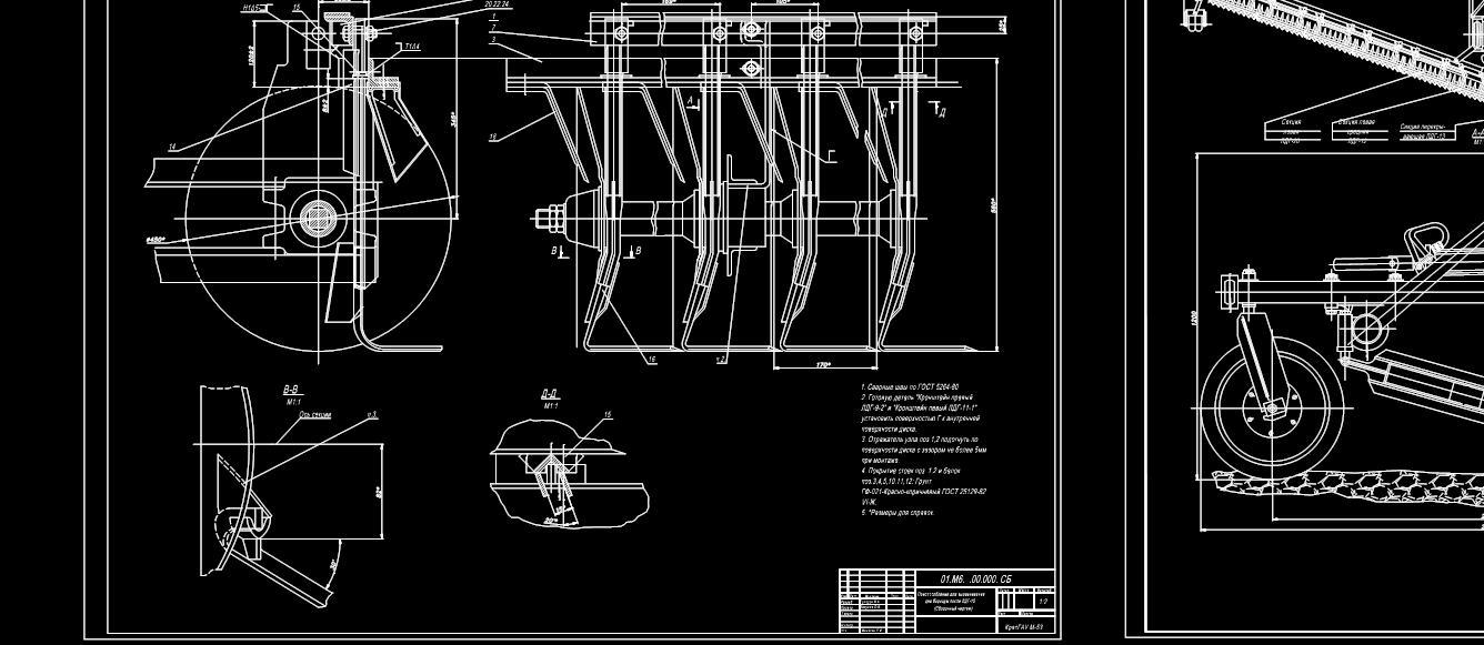 Лущильник ЛДГ-15 с