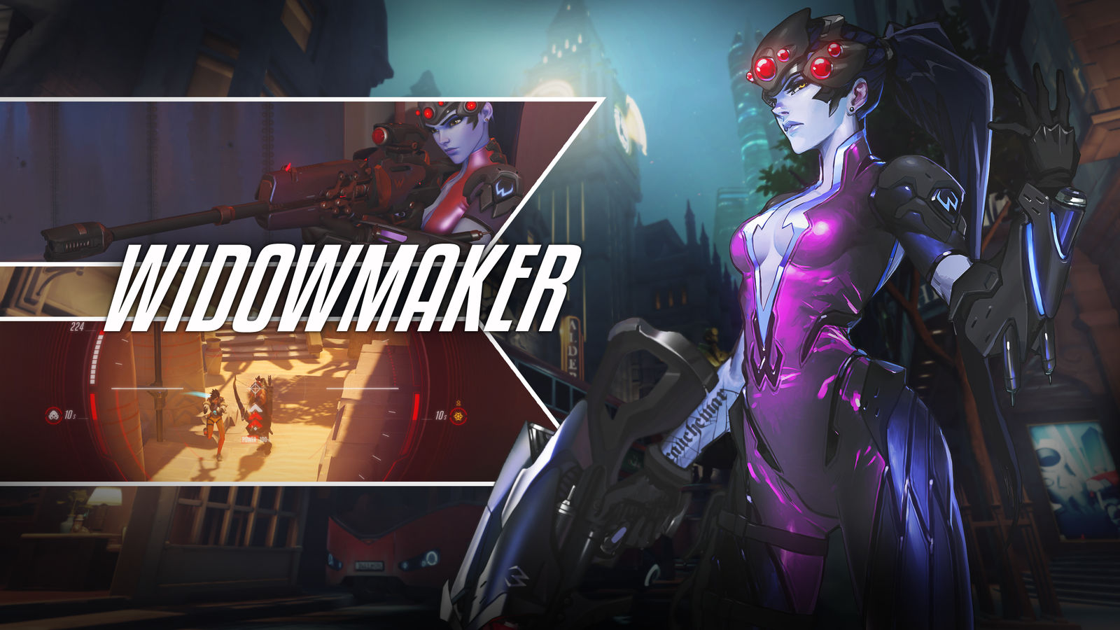Widowmaker Skin for Overwatch