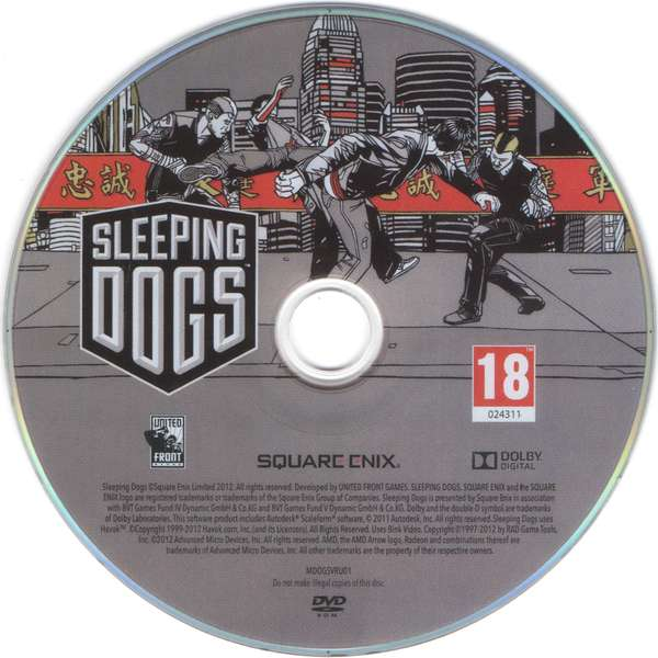 z Sleeping Dogs (Steam)