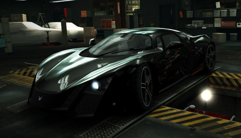 z Need for Speed World - Автомобиль Marussia B2